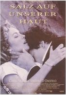 Salt on Our Skin - German Movie Poster (xs thumbnail)