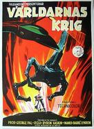 The War of the Worlds - Swedish Movie Poster (xs thumbnail)