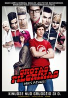 Scott Pilgrim vs. the World - Lithuanian Movie Poster (xs thumbnail)