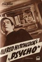 Psycho - German poster (xs thumbnail)