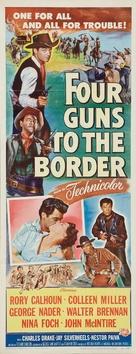 Four Guns to the Border - Movie Poster (xs thumbnail)