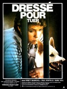White Dog - French Movie Poster (xs thumbnail)