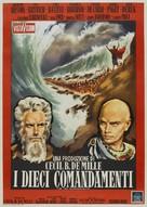 The Ten Commandments - Italian Re-release poster (xs thumbnail)