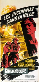 Violent Saturday - French Movie Poster (xs thumbnail)