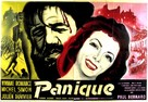 Panique - French Movie Poster (xs thumbnail)