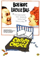 Critic's Choice - DVD cover (xs thumbnail)