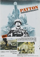 Patton - Swedish Movie Poster (xs thumbnail)