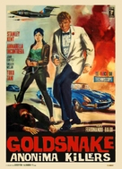 Goldsnake 'Anonima Killers' - Italian Movie Poster (xs thumbnail)