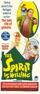 The Spirit Is Willing - Australian Movie Poster (xs thumbnail)