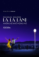 La La Land - Vietnamese Movie Poster (xs thumbnail)