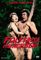 Carry on Up the Jungle - Hungarian DVD cover (xs thumbnail)