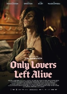 Only Lovers Left Alive - German Movie Poster (xs thumbnail)
