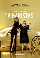 The Hustle - Portuguese Movie Poster (xs thumbnail)