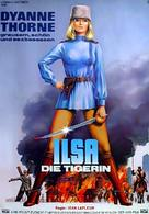 Ilsa the Tigress of Siberia - German Movie Poster (xs thumbnail)