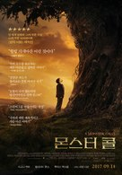 A Monster Calls - South Korean Movie Poster (xs thumbnail)