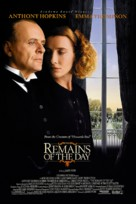 The Remains of the Day - Movie Poster (xs thumbnail)