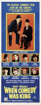 When Comedy Was King - Movie Poster (xs thumbnail)