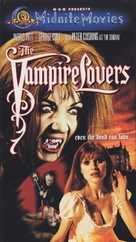 The Vampire Lovers - VHS movie cover (xs thumbnail)