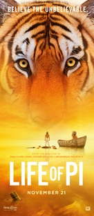 Life of Pi - Movie Poster (xs thumbnail)