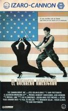 American Ninja - Spanish VHS cover (xs thumbnail)