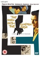 The Man with the Golden Arm - British DVD movie cover (xs thumbnail)