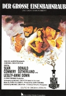 The First Great Train Robbery - German Movie Poster (xs thumbnail)