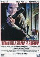 L'uomo della strada fa giustizia - Italian DVD cover (xs thumbnail)