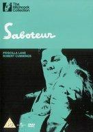 Saboteur - British DVD cover (xs thumbnail)