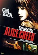 The Disappearance of Alice Creed - Polish DVD movie cover (xs thumbnail)