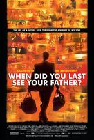 And When Did You Last See Your Father? - poster (xs thumbnail)