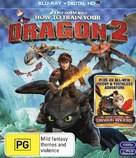 How to Train Your Dragon 2 - Australian Blu-Ray movie cover (xs thumbnail)