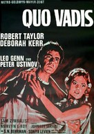 Quo Vadis - German Movie Poster (xs thumbnail)