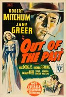 Out of the Past - Australian Movie Poster (xs thumbnail)
