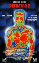 Predator 2 - German VHS movie cover (xs thumbnail)