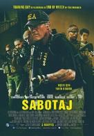 Sabotage - Turkish Movie Poster (xs thumbnail)