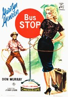 Bus Stop - Spanish Movie Poster (xs thumbnail)