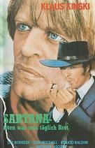 Sono Sartana, il vostro becchino - German VHS movie cover (xs thumbnail)