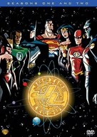 """""""Justice League"""" - DVD movie cover (xs thumbnail)"""