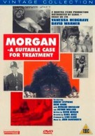 Morgan: A Suitable Case for Treatment - British DVD cover (xs thumbnail)