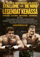 Grudge Match - Finnish Movie Poster (xs thumbnail)
