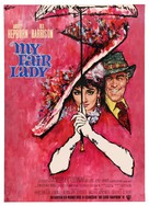 My Fair Lady - German Movie Poster (xs thumbnail)