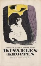 Le diable au corps - Danish Movie Poster (xs thumbnail)