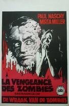 La rebelión de las muertas - Belgian Movie Poster (xs thumbnail)