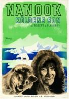 Nanook of the North - Swedish Movie Poster (xs thumbnail)