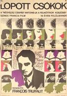 Baisers volés - Hungarian Movie Poster (xs thumbnail)