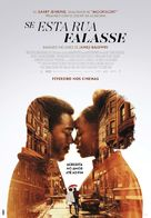 If Beale Street Could Talk - Portuguese Movie Poster (xs thumbnail)