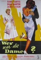 Who Was That Lady? - German Movie Poster (xs thumbnail)