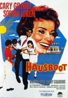 Houseboat - German Movie Poster (xs thumbnail)
