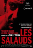 Les salauds - Spanish Movie Poster (xs thumbnail)