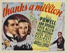 Thanks a Million - Movie Poster (xs thumbnail)